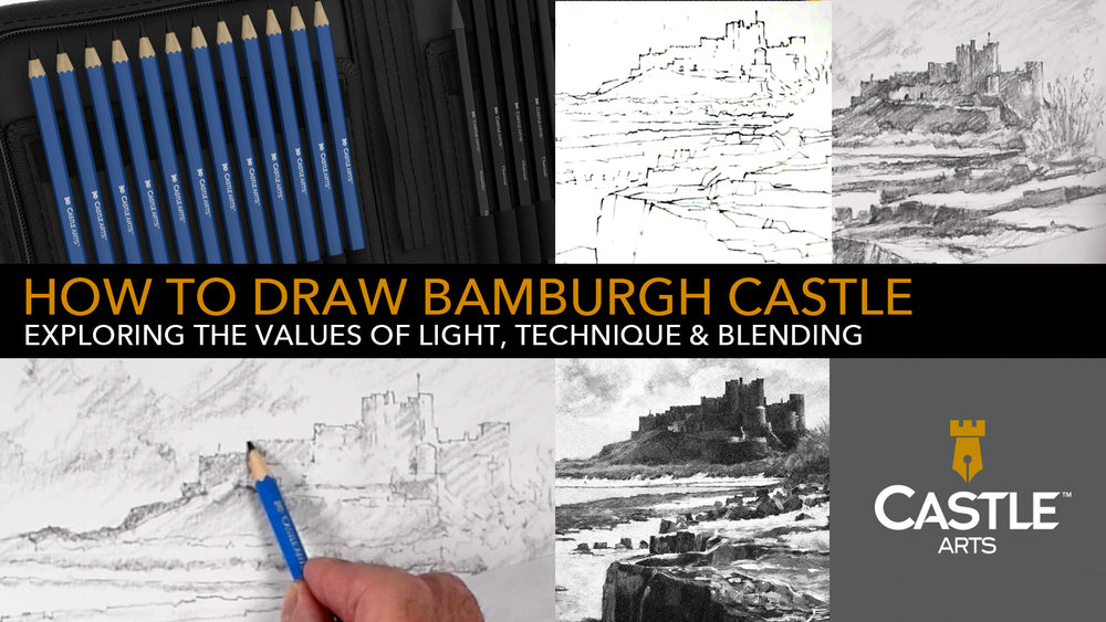 How to Draw | Exploring The Values Of Light Using Graphite Pencils