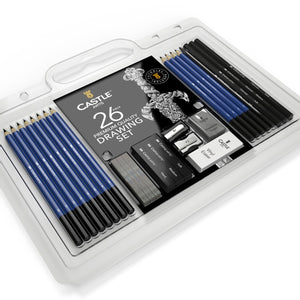 Load image into Gallery viewer, 26 Piece Drawing and Sketching Pencil Art Set