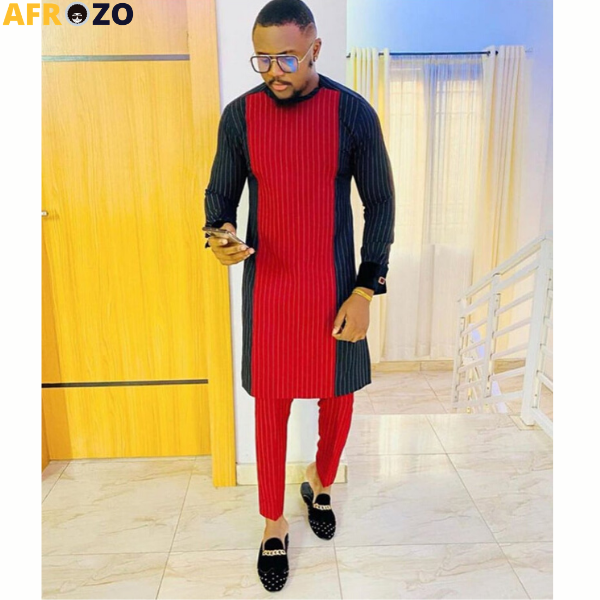 African Inspired Suit For Men - afrozo