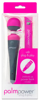 Palm Power Plug & Play Wand Massager at Love Shop