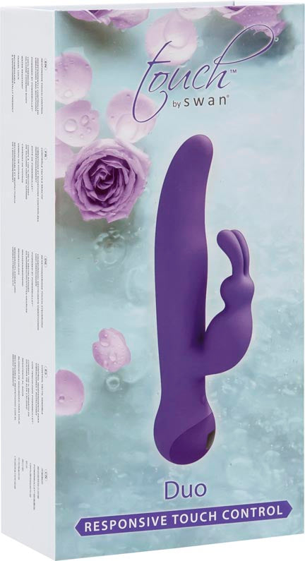 Touch By Swan - Duo Rabbit Vibrator at Love Shop