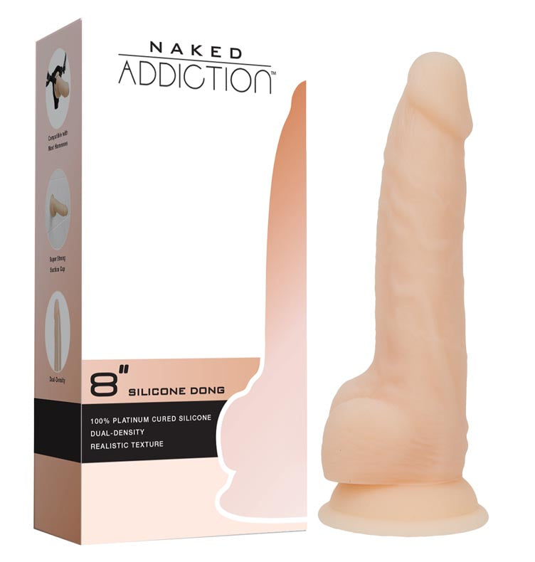 Naked Addiction - Silicone Dong at Love Shop