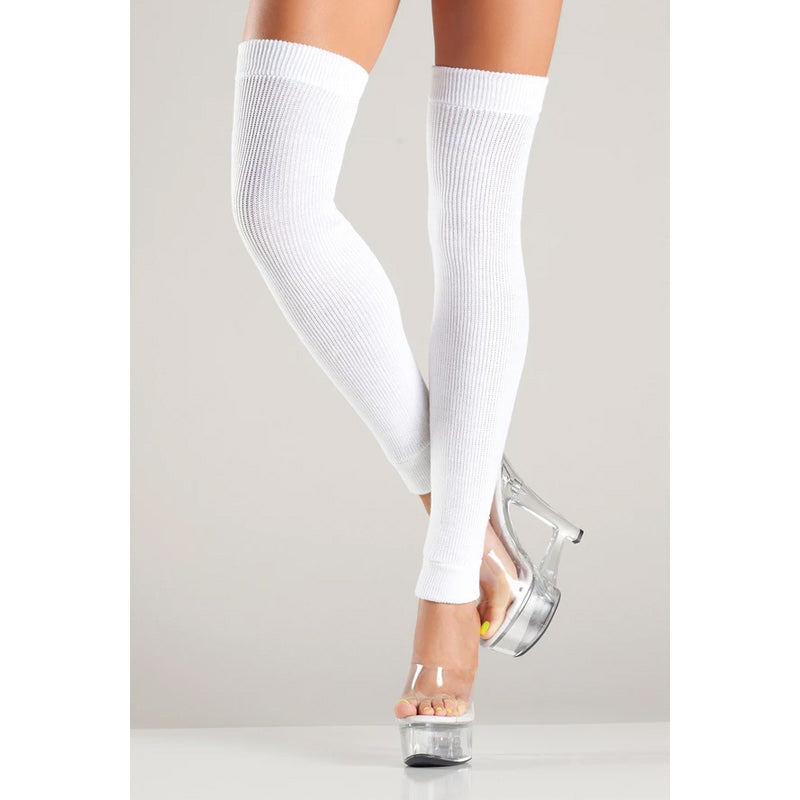 Acrylic Thigh Highs Leg Warmer
