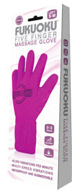 Fukuoku Five Finger Vibrating Massage Glove Right Hand at Love Shop