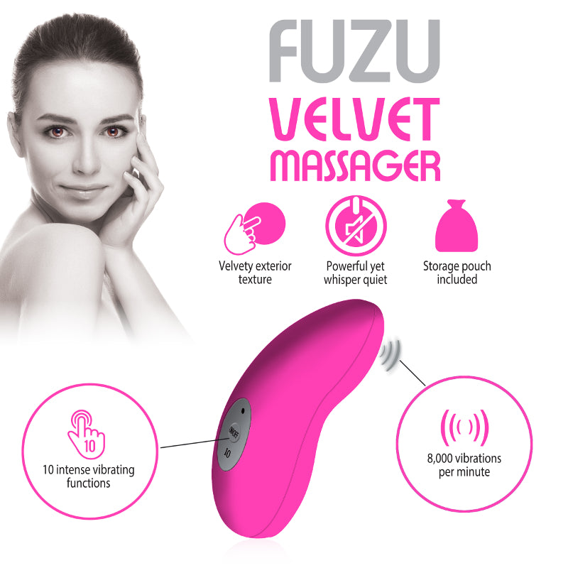 Fuzu Velvet Massagers at Love Shop