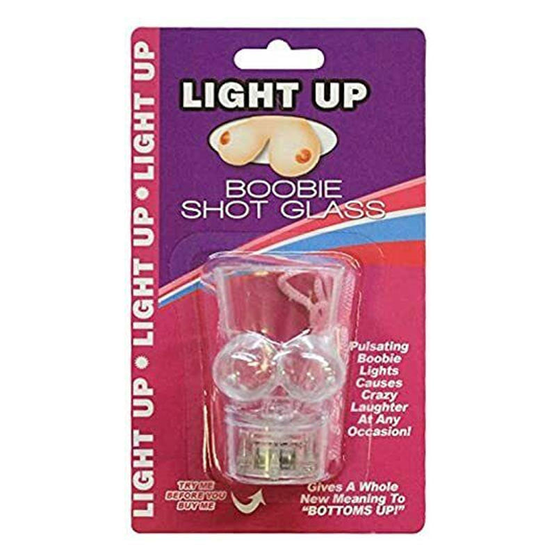 Light Up Boobie Shot Glass With String