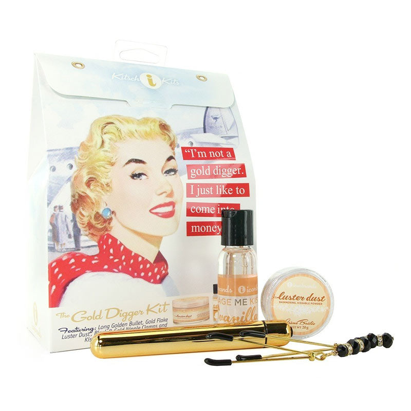 Kitsch Kits, The Gold Digger Kit at Love Shop