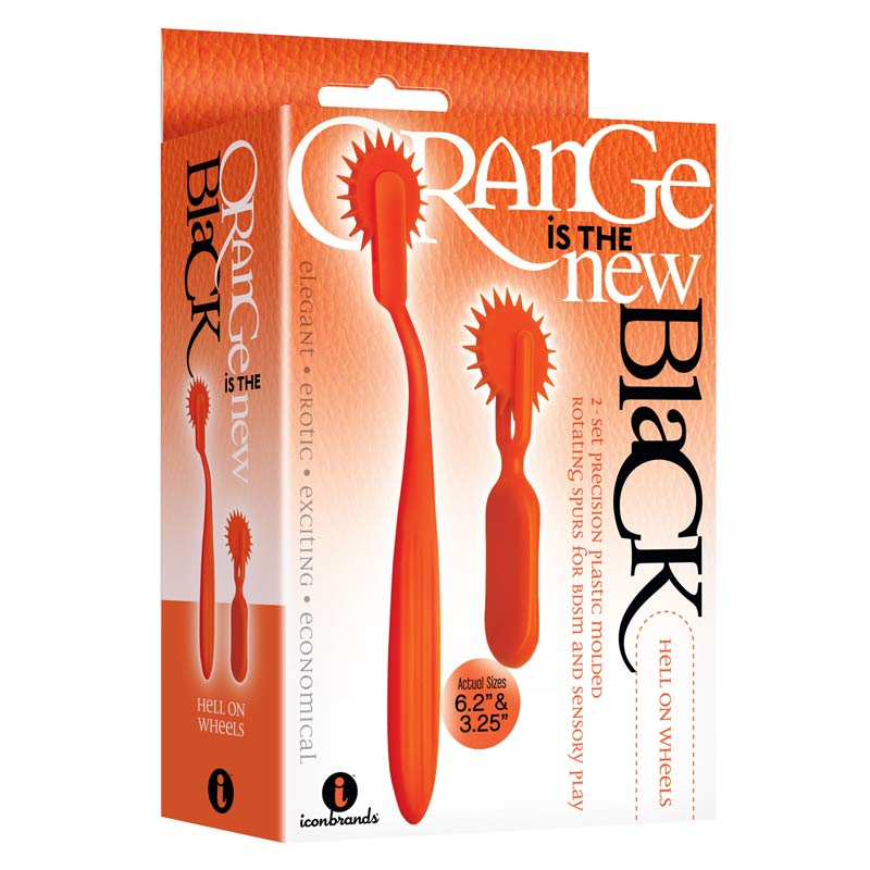 The 9's, Orange Is The New Black, Hell On Wheels, 2-Pc Wartenberg Wheel Set at Love Shop