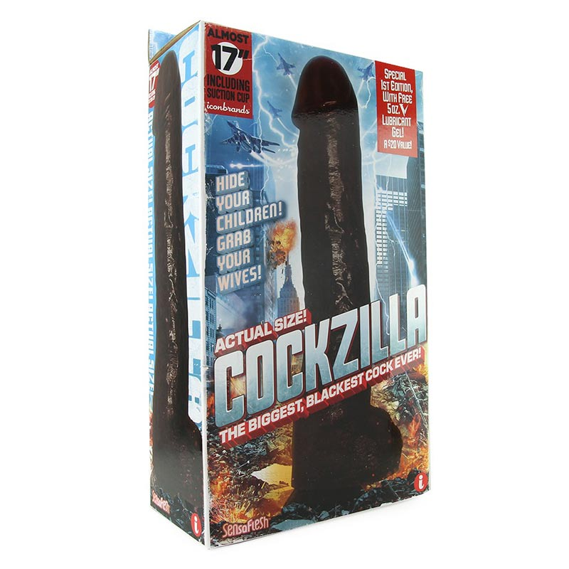 Cockzilla, Black Dildo at Love Shop