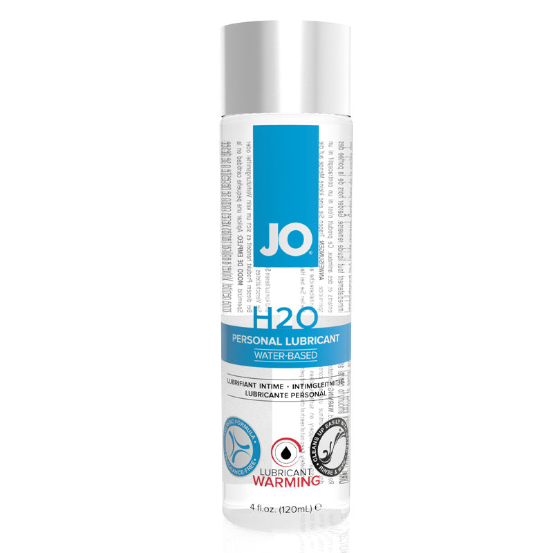 JO H2O Warming Waterbased Lubricant