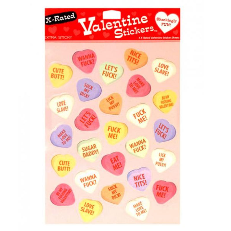 X-Rated Stickers Party Item at Love Shop