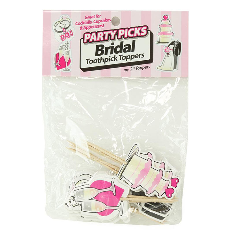 Little Genies Bridal Party Tooth Picks Bachelorette & Bachelor Item at Love Shop