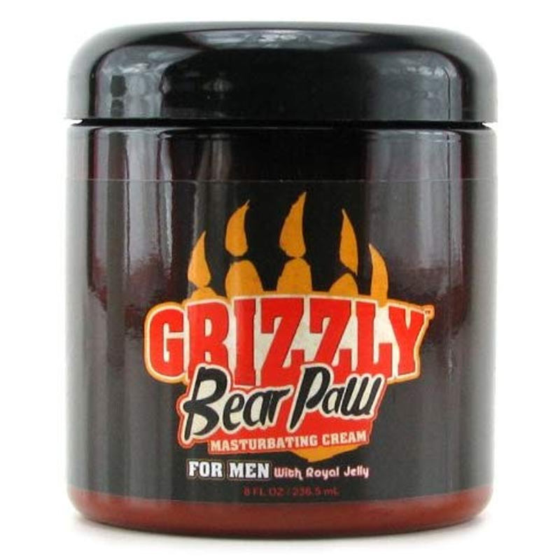 Grizzly Premium Lubricant Bear Paw Cream