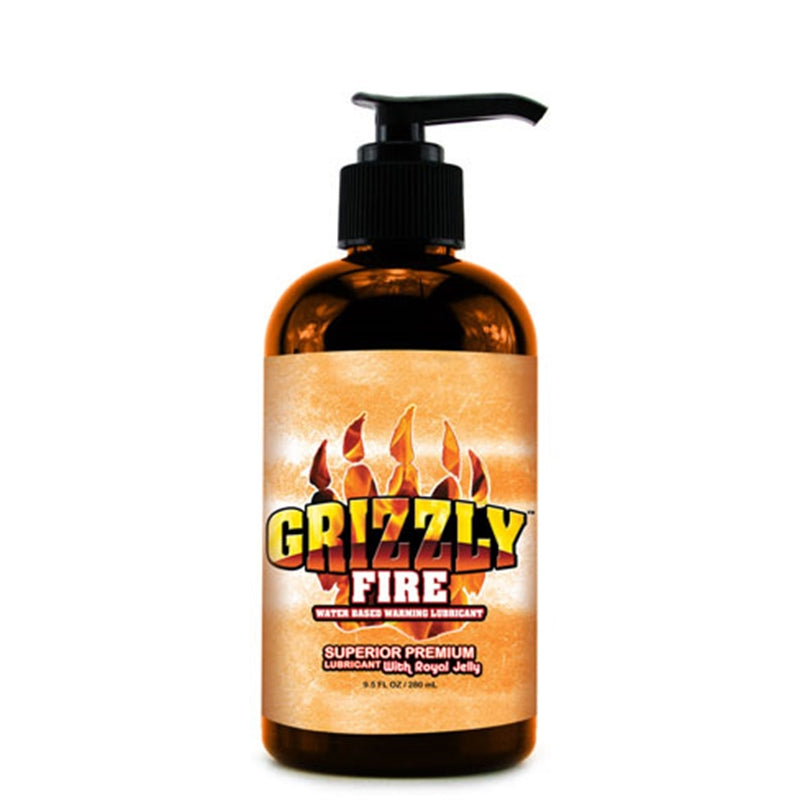 Grizzly Premium Lubricant Fire Water Based Warming