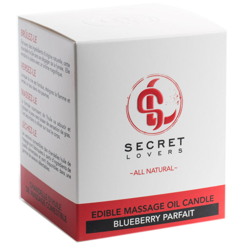 Secret Lovers All Natural Massage Candles