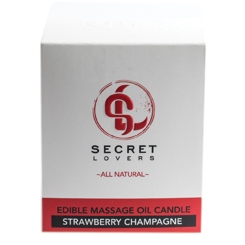 Secret Lovers All Natural Massage Candles at Love Shop