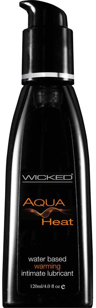 Wicked Sensual Aqua Heat Warming & Cooling Lubricant