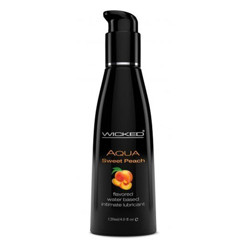 Wicked Sensual Aqua Sweet Peach  Flavoured Lubricant