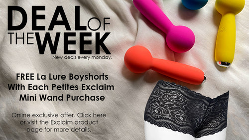 deal of the week new deals every monday. This week kink weighted metal butt plug save 20 dollars