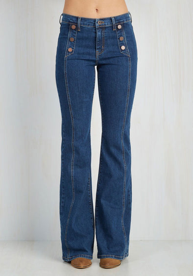 womens bootcut jeans loose pants