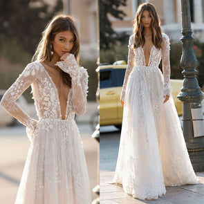 The Diamond Wedding Gown Going Out Clothes Long Sleeve Prom Dresses White Tutu Dress Womens