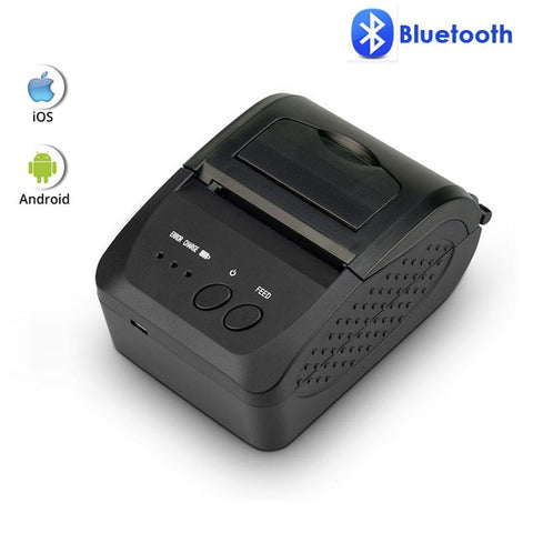 80mm Bluetooth Thermal Receipt Printer Portable 58mm Bill Printer for Android IOS Iphone ipad ESC/POS Terminal NT-1809DD