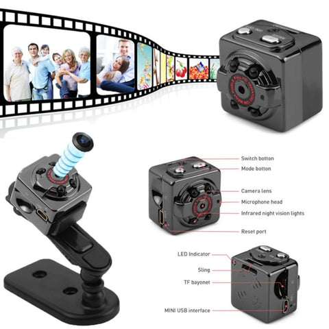 HD Mini Camera 1080p Vision Body DVR DV Motion Sensor Mini Camcorders