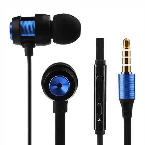 Super Bass Stereo Earphone Sport Headset with Headphone For Iphone7