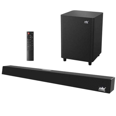 120W Home Theater Sound System Soundbar 2.1 TV Bluetooth Speaker Coaxial Subwoofer Speakers For TV