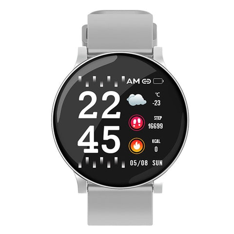 Smart Watch Men/Women Heart Rate Weather Fitness Watch Call Reminder