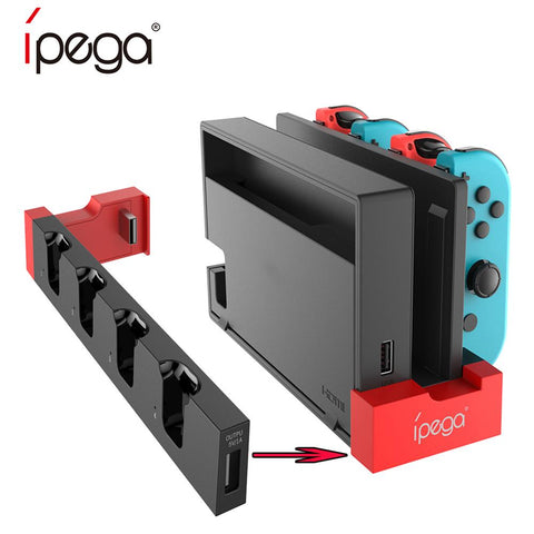 iPega PG-9186 Game Controller Charger - Nintendo Switch Joy-Con Game Console with Indicator