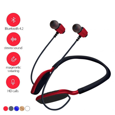 Multifunction Portable Wireless Headphones Smart Noise Reduction HD Calling Microphone