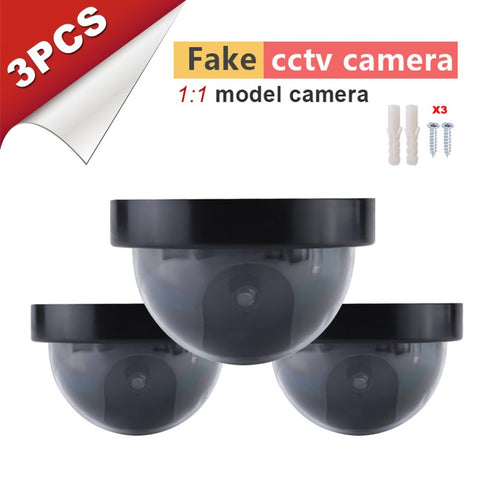 3pcs Outdoor Indoor Simulation Camera Surveillance Security Cam