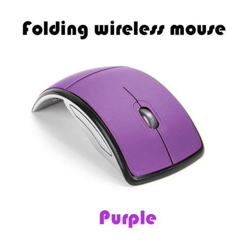 2.4G Wireless Mouse Foldable Computer Mouse