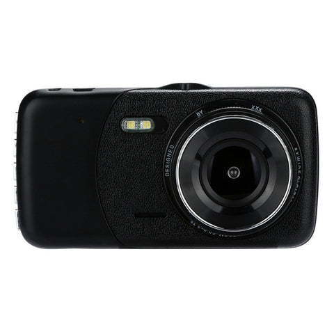 4'' LCD IPS Dual Lens Car Dash Cam FHD 1080P G-sensor Parking Mon
