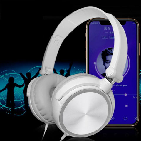 3.5mm Gaming Headset Reduce Noise Stereo With Mic Headsets For  Smartphone Computer