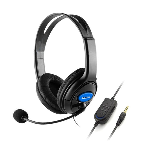 Gaming Headsets with Mic Noise Isolating Headphones 40mm Bass Stereo for Sony PS3 PS4 Laptop PC Gamer Headphone