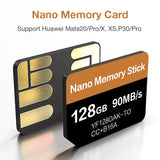 2020 90MB/s 128GB Nano Memory Card Apply For Huawei Mate20 Pro Mate20 X P40 P30 P30 Pro Mate30 Mate30Pro