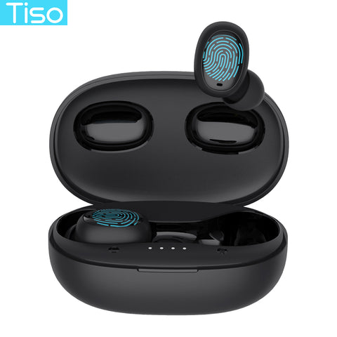 Bluetooth 5.0 headphone noise cancelling Mic 3D TWS stereo headset