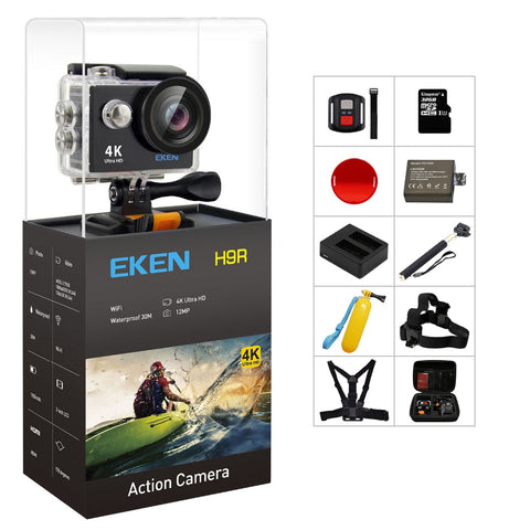 Action Camera 4K Ultra HD 1080p/60fps