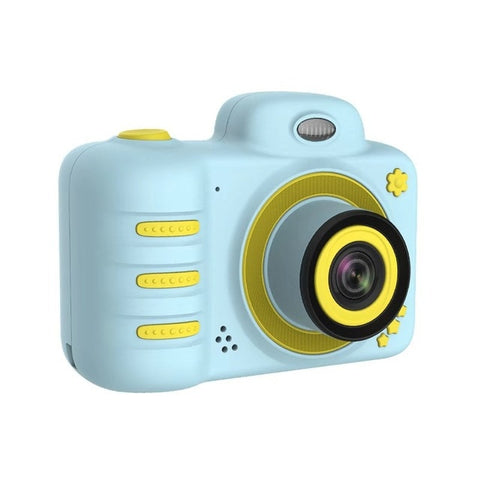2019 Newly C3  Kids Camera 1080P HD Mini Rechargeable Digital Front Rear Selfie Camera