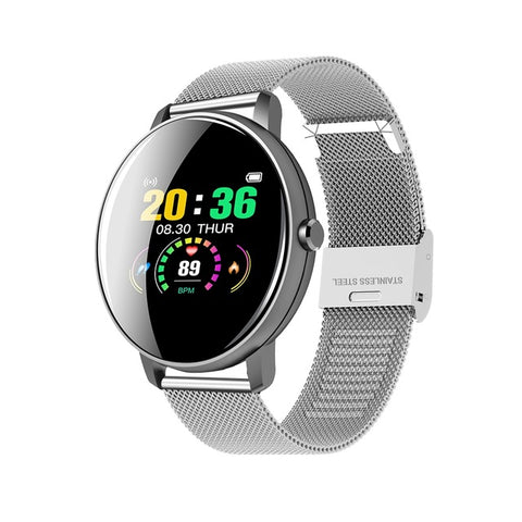 Smart Watch Men Women Full Touch Screen Waterproof Watch For Android IOS