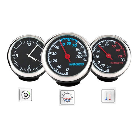 Car Digital Clock Auto Watch/Thermometer