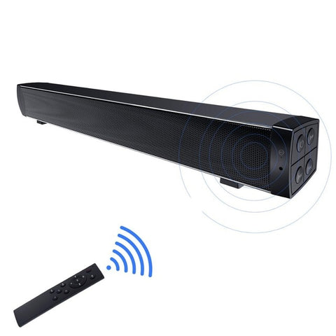 Bluetooth Wireless Mini Soundbar Speakers for Home Theater Surround Sound
