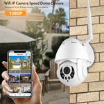 WiFi IP Camera Outdoor Speed Wireless Wifi Security Motion Detect Auto-Tracking