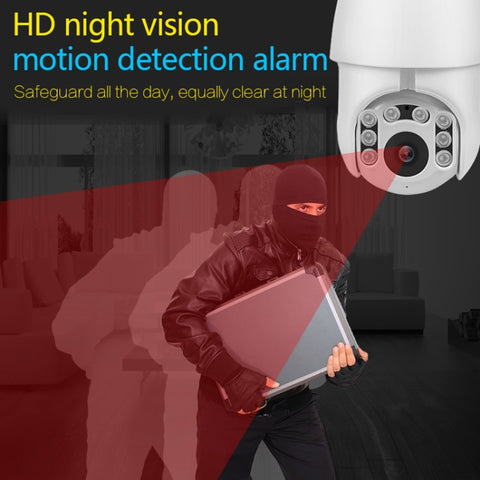 WIFI Security Camera Outdoor PTZ IP Camera H.265X 1080p Speed Dome Home Surveilance