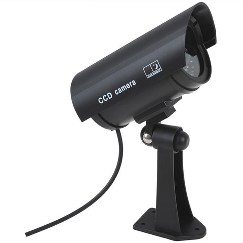Fake Camera Battery Powered Flicker Blink LED Security