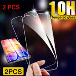 2 Pieces Clear 9H Hard Screen Protector for Samsung A50 A60 A80 A90 for Galaxy A70 A30 A40 A20E A10 A2 Core HD