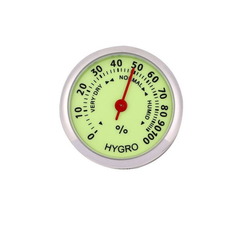 Car Luminous Clock Thermometer Hygrometer Dashboard