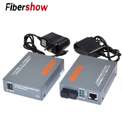 3 Pair HTB-GS-03 A&B Gigabit Fiber Optical Media Converter